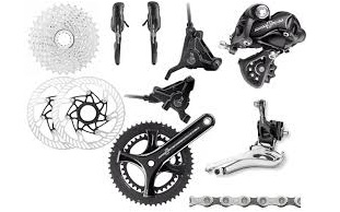 Campagnolo Potenza Disc 11s groupset